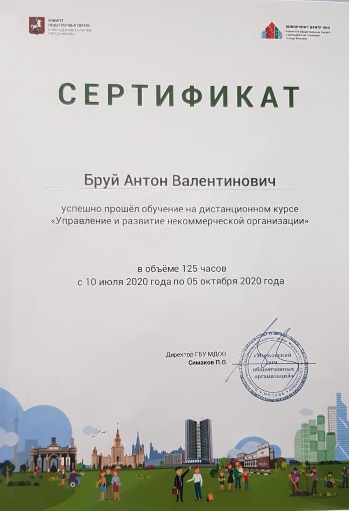 Диплом Бруй Антон Валентинович
